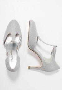 Tamaris - Højhælede pumps - silver glam - 3