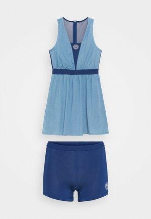 ANKEA TECH DRESS - Jurken - blue denim/dark blue
