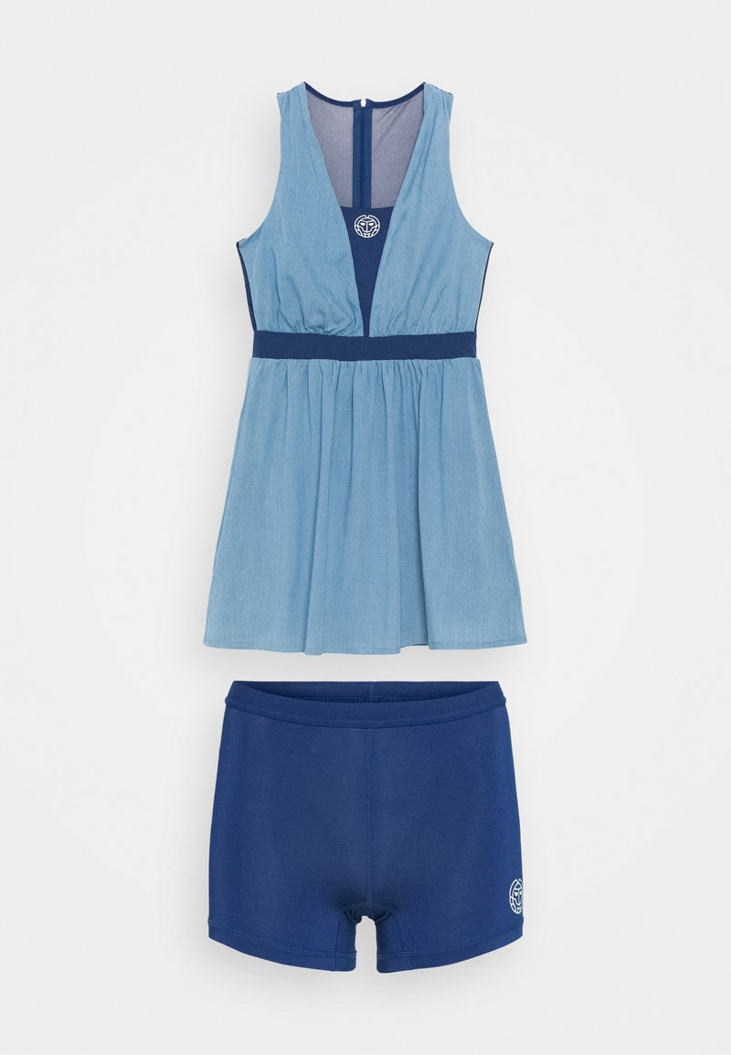 BIDI BADU - ANKEA TECH DRESS - Sportklänning - blue denim/dark blue