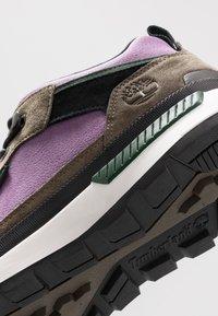 Timberland - FIELD TREKKER - Sneakersy wysokie - canteen - 5