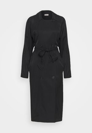 RAMELLE - Trenchcoat - black