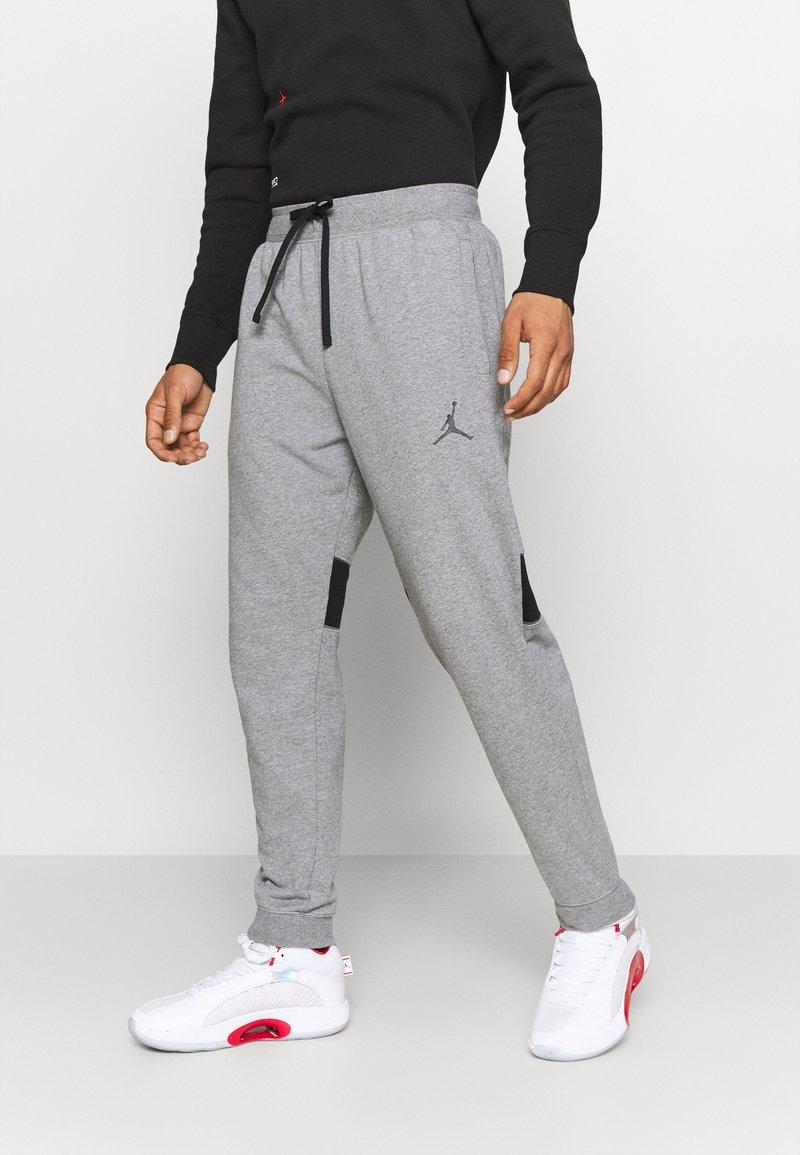 Jordan - AIR PANT - Pantaloni sportivi - carbon heather/black