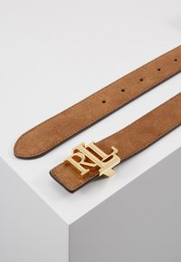 Lauren Ralph Lauren - SUPER SMOOTH - Ceinture - cappuccino/black - 3