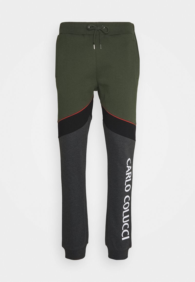 Carlo Colucci - Tracksuit bottoms - green