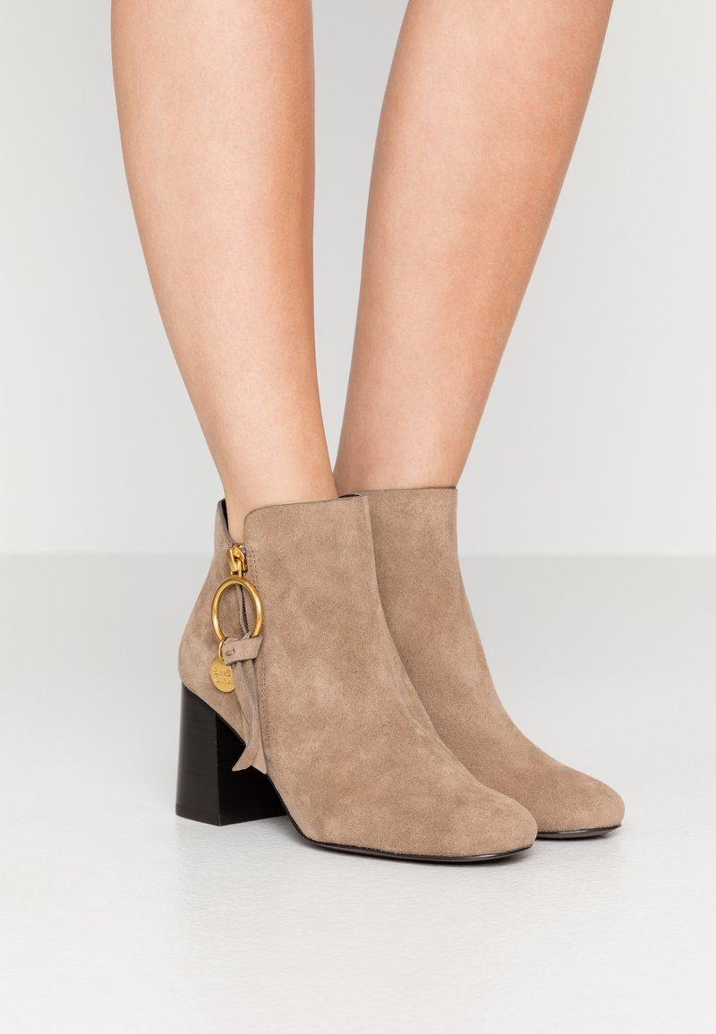 See by Chloé - Botines bajos - taupe