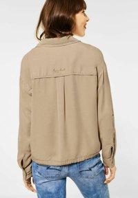 Street One - Button-down blouse - beige - 1