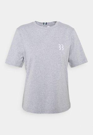 MICHAELA TEE - T-shirt print - light grey melange