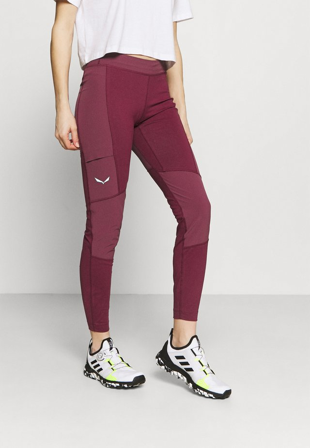 ALPINE - Legging - rhodo red