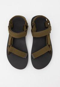 Teva - ORIGINAL UNIVERSAL - Chodecké sandály - dark olive - 3