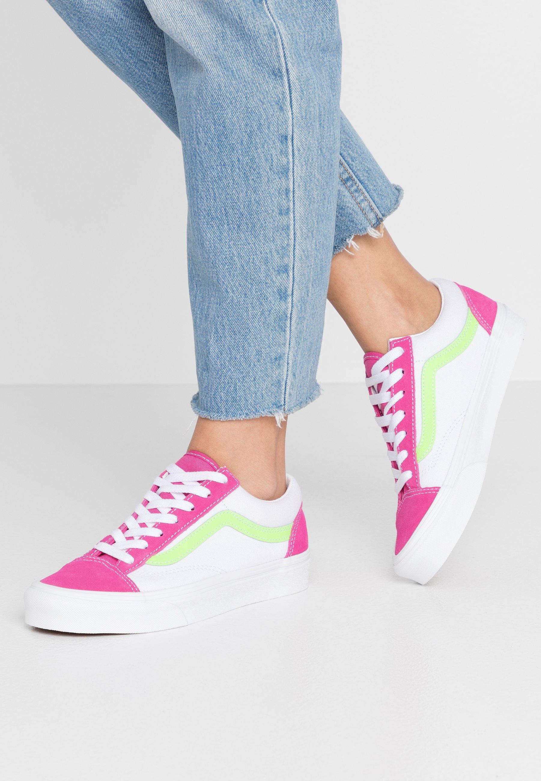 Soldes > chaussure vans rose > en stock