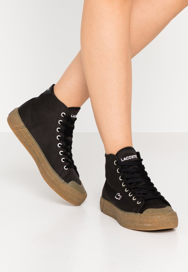 Lacoste - GRIPSHOT MID - Baskets montantes - black