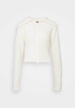 PEYTON CARDIGAN - Cardigan - warm white