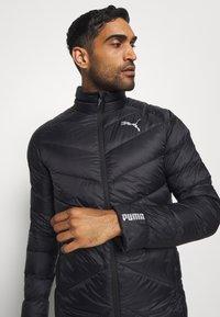 Puma - WARM PACKLITE - Gewatteerde jas - black - 3