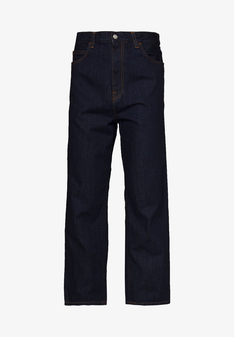 Carhartt WIP - SMITH PANT MONROE - Relaxed fit jeans - dark blue