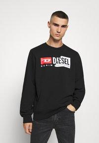 Diesel - S-GIRK-CUTY - Felpa - black - 0