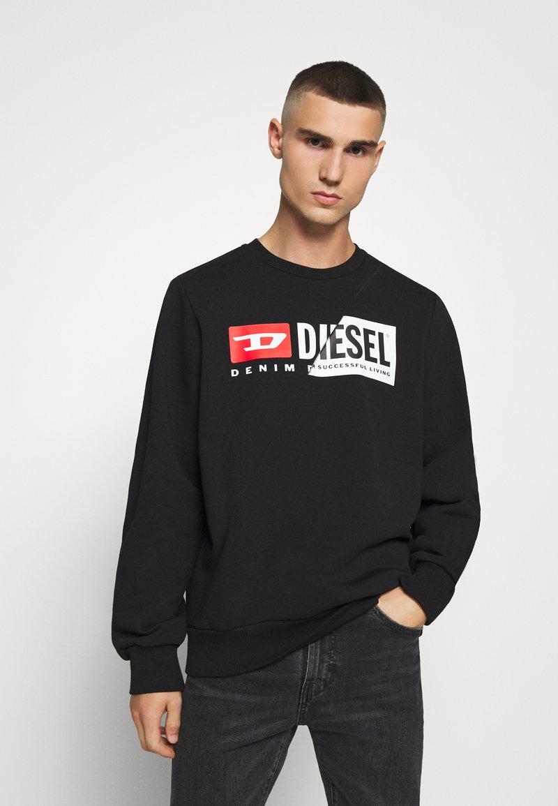 Diesel - S-GIRK-CUTY - Felpa - black