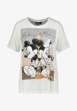 MICKEY PARIS - Print T-shirt - weiss
