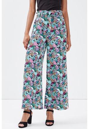 Pantalon classique - multico