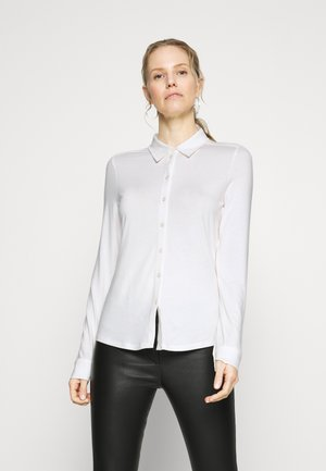 LONG SLEEVE - Button-down blouse - off white
