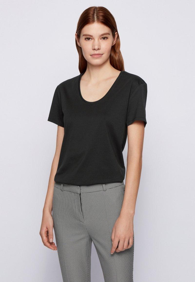 BOSS CASUAL - EGREATY - Basic T-shirt - black