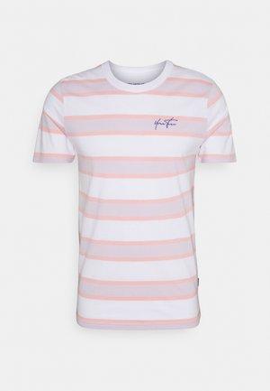 UNISEX - Print T-shirt - pink/lilac