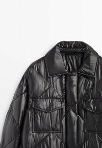 Massimo Dutti - Down coat - black - 6