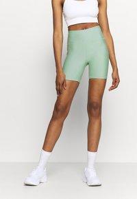 Cotton On Body - REVERSIBLE BIKE SHORT - Leggings - mint chip - 0