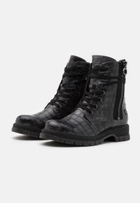 Marco Tozzi by Guido Maria Kretschmer - Lace-up ankle boots - dark grey - 2