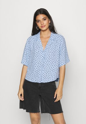 TANI BLOUSE - Button-down blouse - blue light