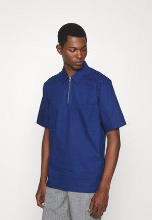 ZIP POPOVER SHIRT - Shirt - deep ultramarine