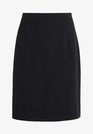 HIGH WAIST SKIRT - Pencil skirt - black