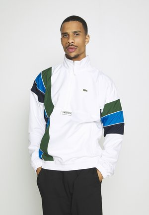 ZIP JACKET RAINBOW - Giacca sportiva - white/navy blue/utramarine/green