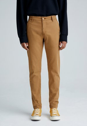 XX CHINO STD II - Trousers - desert boots shady