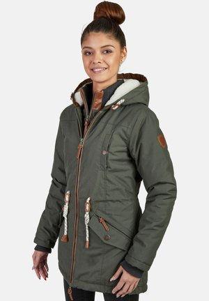 ABBY - Winter coat - khaki