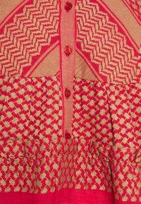 CECILIE copenhagen - JADE DRESS - Day dress - camel/red - 2