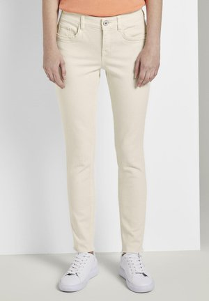 TOM TAILOR ALEXA SLIM - Slim fit jeans - soft vanilla