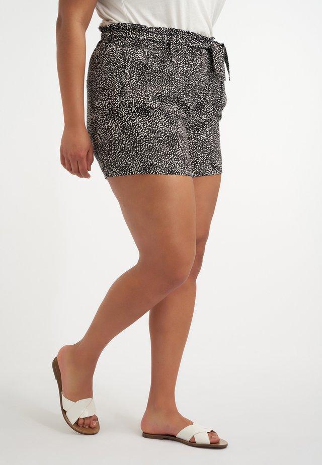 Shorts - multi zwart-wit