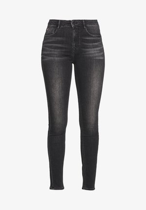 SOUL CROPPED - Jeans Skinny Fit - black fog