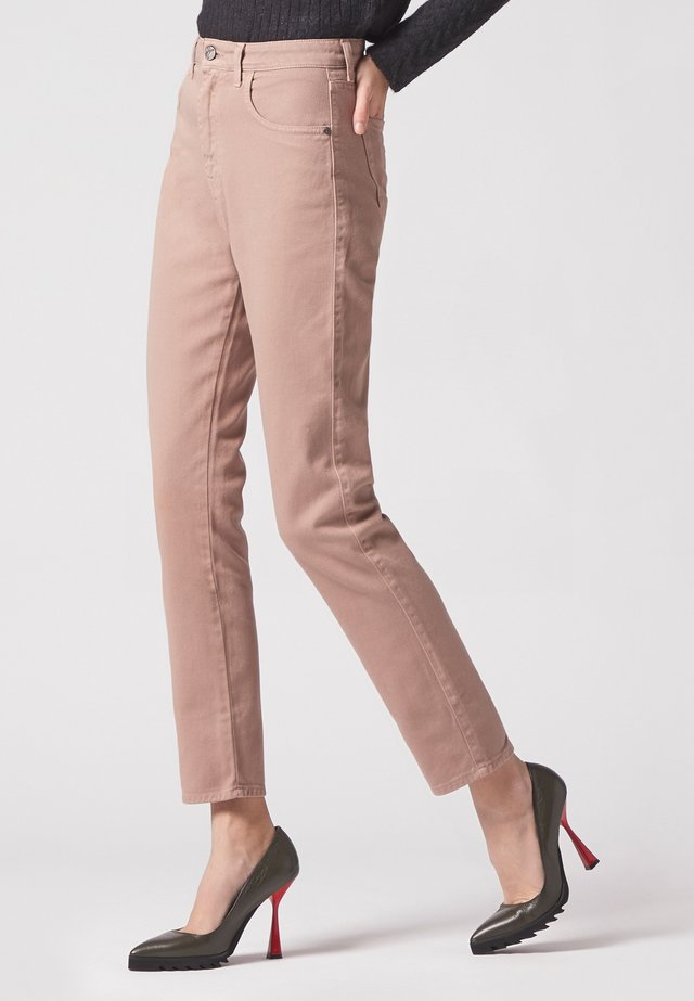 Trousers - cipria