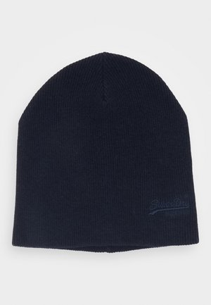 ORANGE LABEL BEANIE - Beanie - bright navy grit