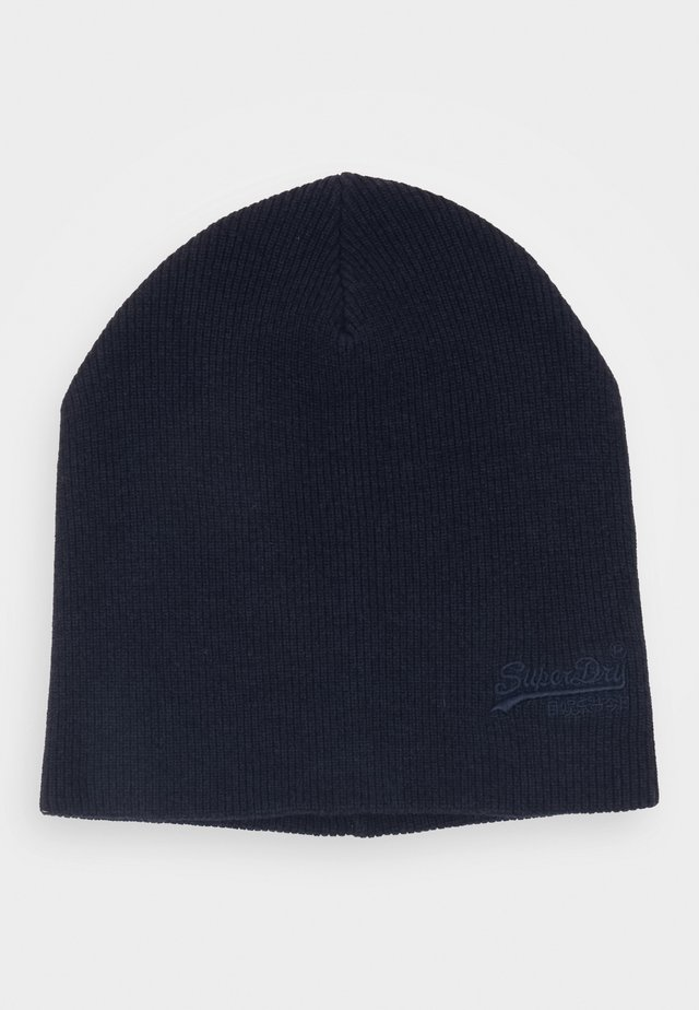 ORANGE LABEL BEANIE - Čepice - bright navy grit