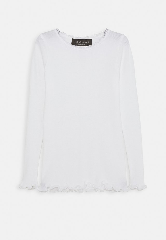 Long sleeved top - new white