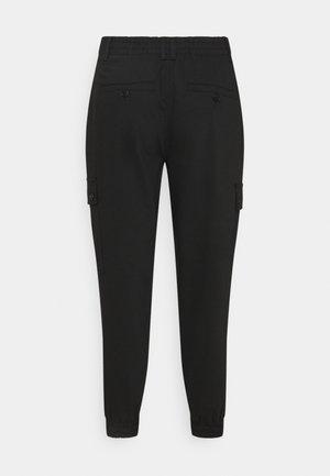 FREIGHT - Cargo trousers - schwarz