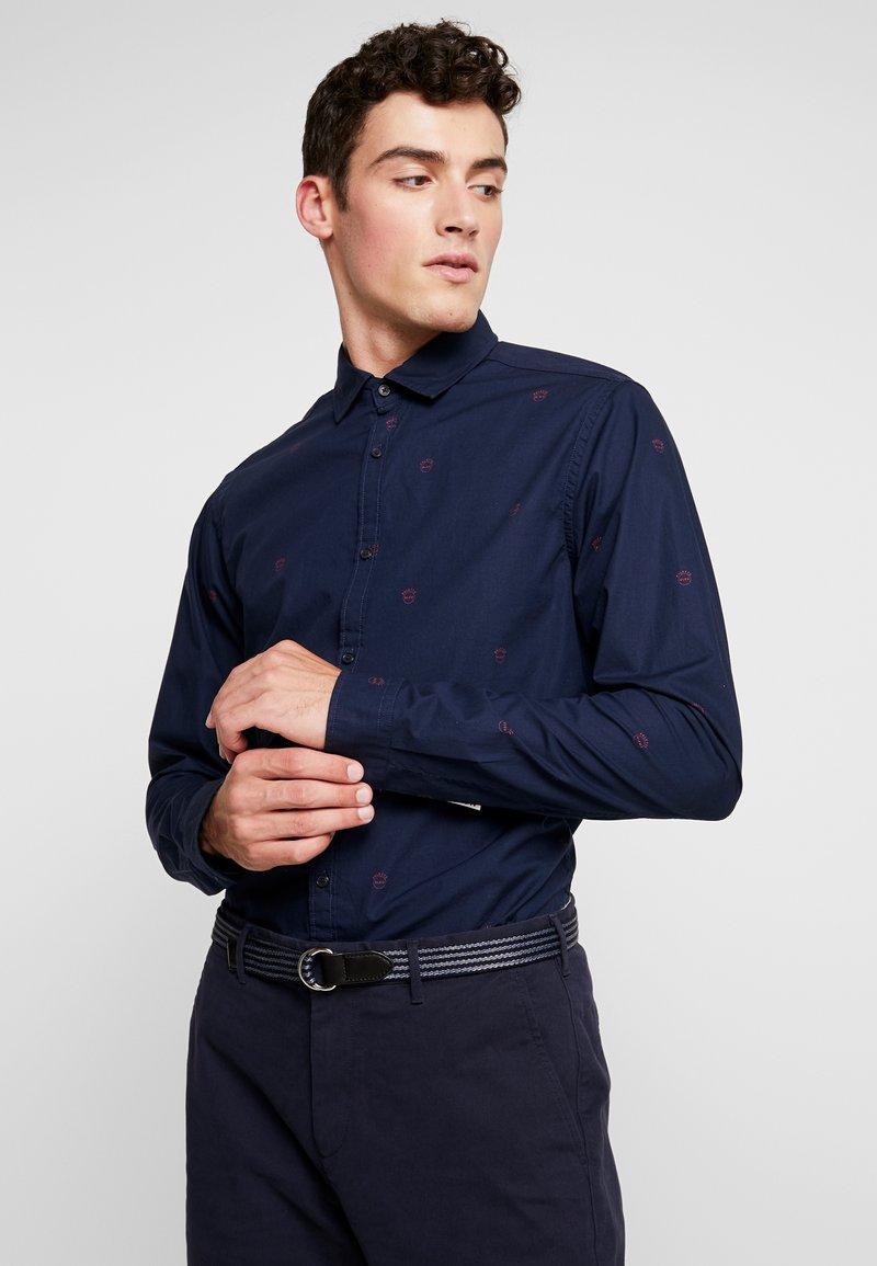 Scotch & Soda - BLAUW LIGHT WEIGHT SHIRT WITH PRINTS - Overhemd - combo