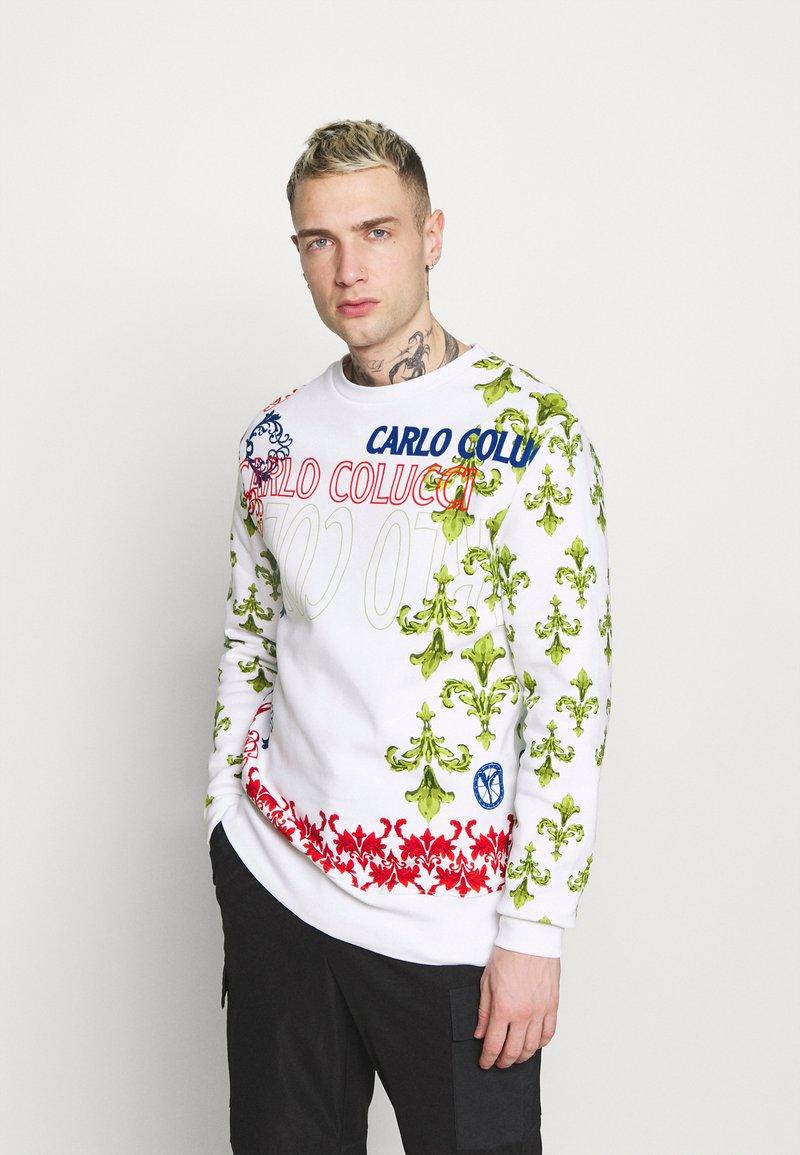 Carlo Colucci - UNISEX - Sweatshirt - white