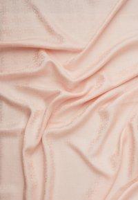 Tory Burch - LOGO TRAVELER SCARF - Šátek - sea shell pink - 2