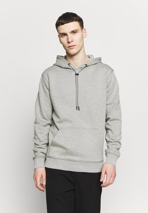 TWO FACE HOODY - Jersey con capucha - grey