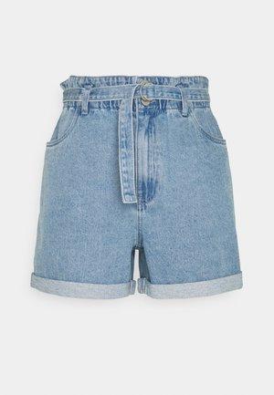 VMTAMARA - Shorts di jeans - light blue denim