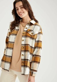 DeFacto - Button-down blouse - brown