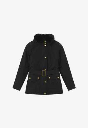 GIRLS BOWDEN - Winter jacket - black